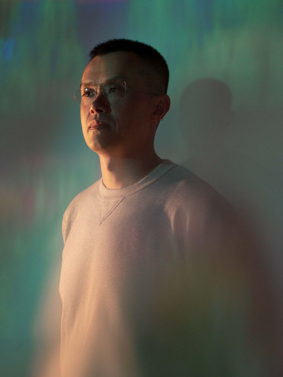 Stort intervju med Changpeng Zhao, grunnlegger av Binance.