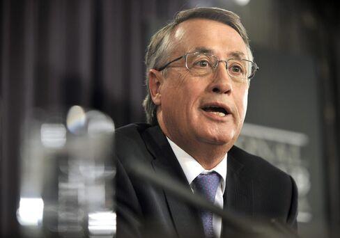 Australia's Treasurer Wayne Swan