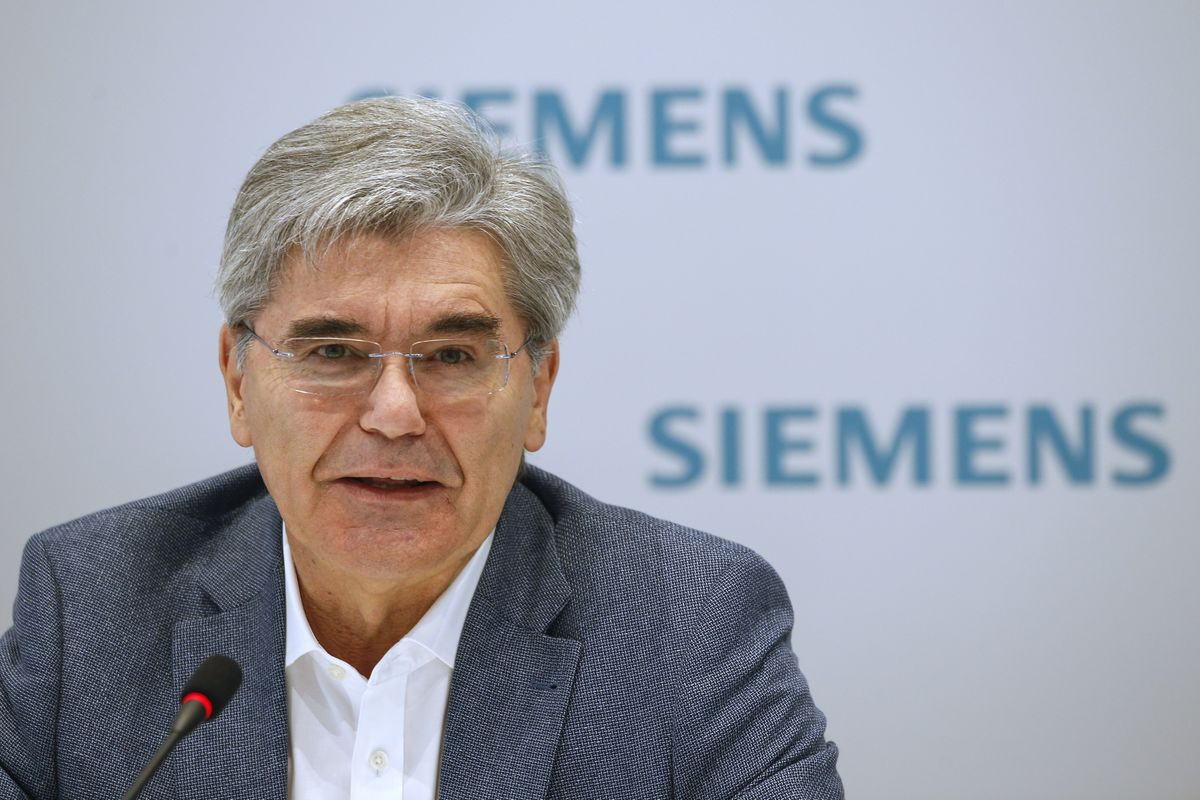 Siemens CEO Calls Trump the Face of 'Racism and Exclusion'