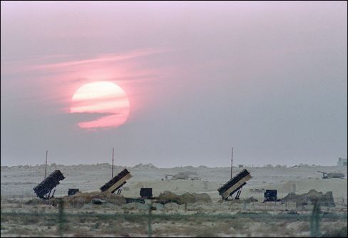 Patriot Anti-Missile Launchers