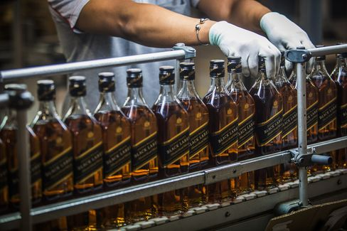 Inside Diageo Plc's International Supply Centre As Company Seeks 5% Of Sales From China
