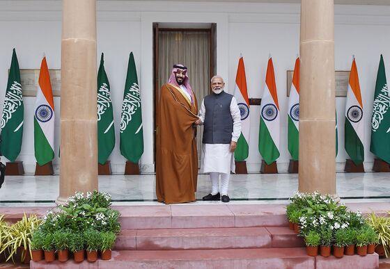 Saudi Prince Pledges to Help India Fight Terror
