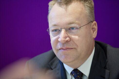 Former Nokia CEO Stephen Elop