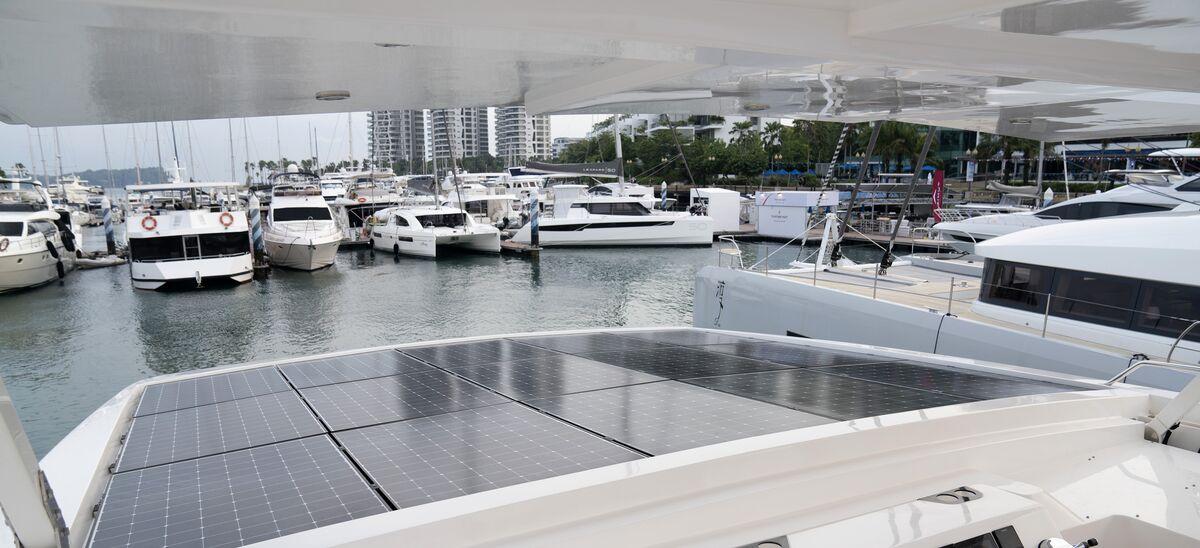 Singapore Yacht Show 2019 Solar Power Catamaran Bloomberg