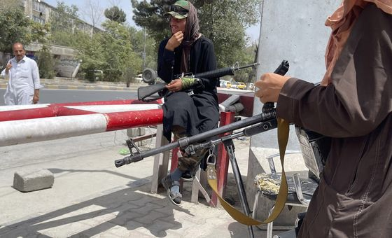 'The Taliban Are Knocking': Afghan Allies of U.S. Fear Worst