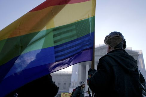 Gay Marriage Gaining Ground As Supreme Court Prepares To Rule