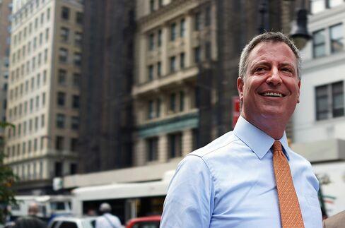 New York Mayoral Candidate Bill de Blasio