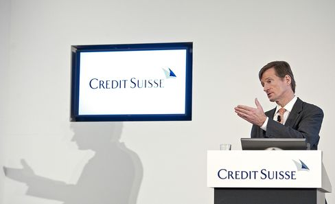Credit Suisse Group Chief Executive Officer Brady Dougan