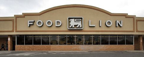 A Delhaize Group SA Food Lion Supermarket