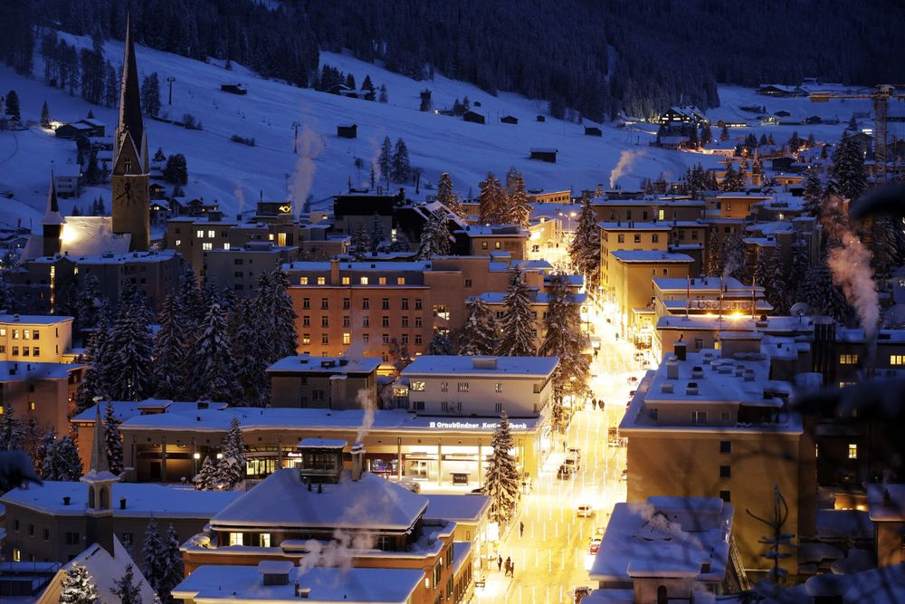 Davos Matters Even Without Trump, WEF Founder Tells Le Temps