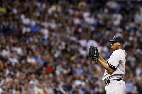 Yankees Pitcher Ivan Nova