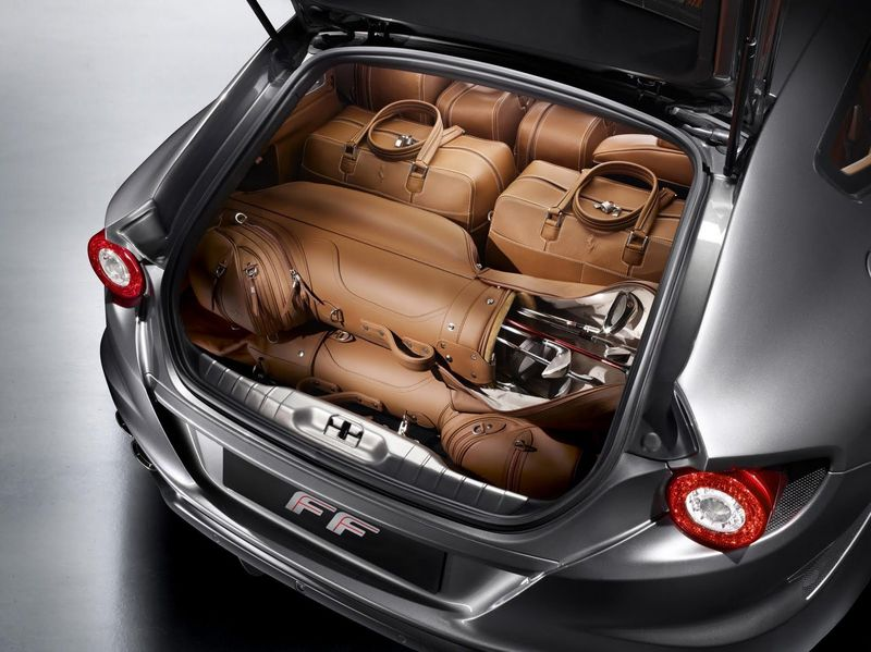 2018 ferrari ff. Perfect Ferrari The Truck Of The Ferrari FF Fits Multiple Luggage Bags Plus Golf Clubs And  Accessories And 2018 Ferrari Ff