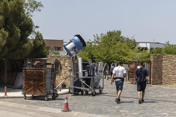 Lights, Camera, Souvlaki! Hollywood Sets Up in Greece