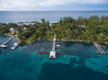 This Legendary Paradise Island Estate Has Private Beach, Secret Drug Vault