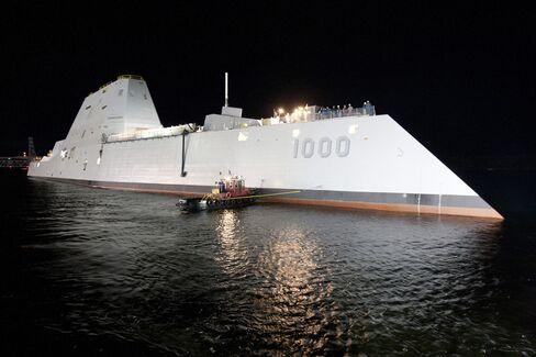 Zumwalt-class destroyer DDG-1000