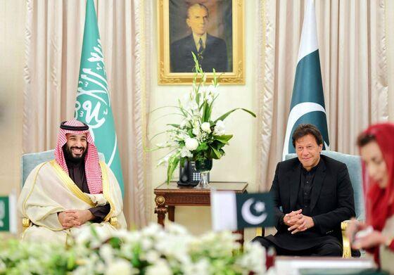 Saudi Prince Gets Red Carpetin Asiaas Murder StrainsU.S. Ties