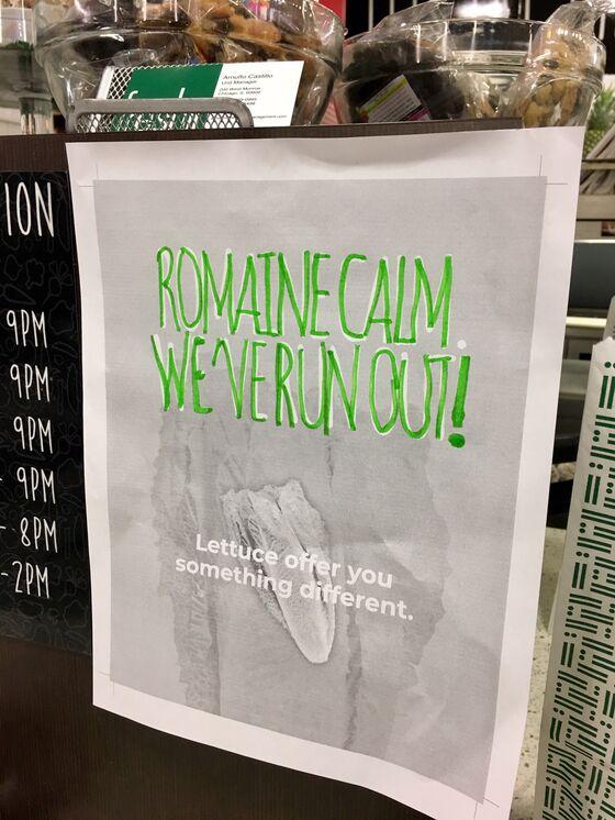 Salad Chains Dealt Rough Hand With Romaine Lettuce Recall, Again