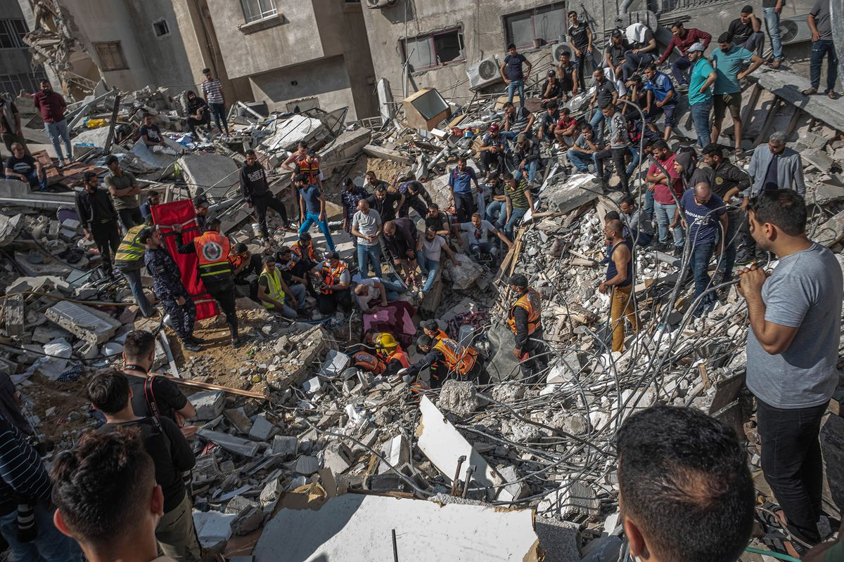 World Demands Gaza Cease-Fire as Netanyahu Vows to Press On - Bloomberg
