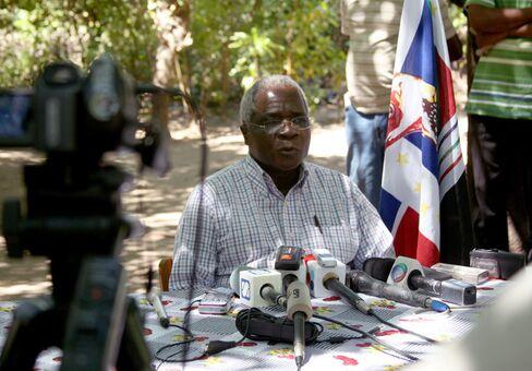 Renamo Leader Afonso Dhlakama