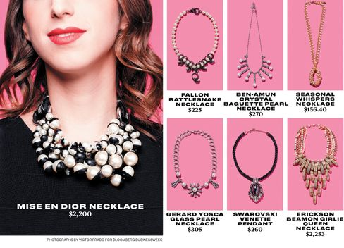 New Pearl Necklaces Have a Younger Look