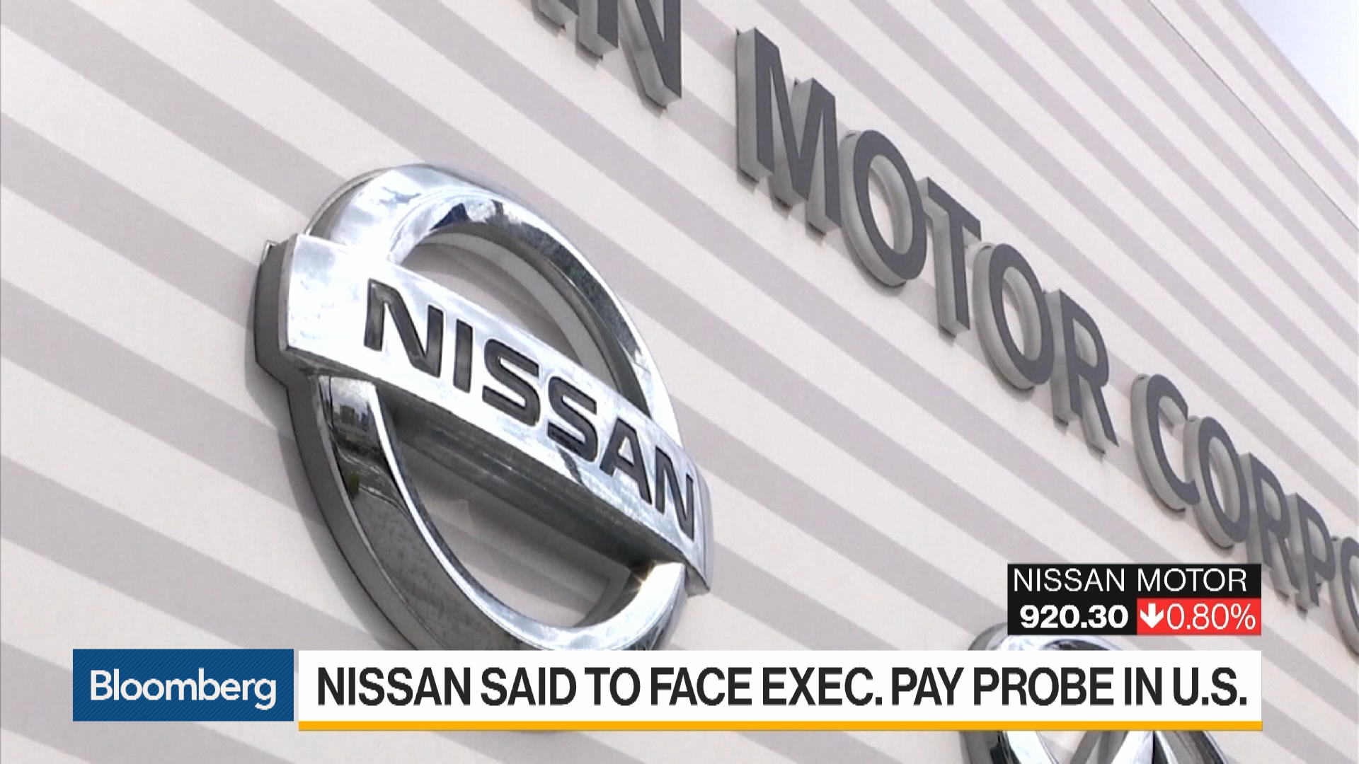 Nissan Said to Face Executive Pay Probe in U.S.