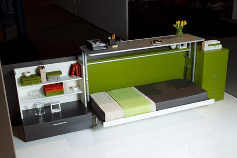 Office Upgrade: The Pullout Desk-Bed