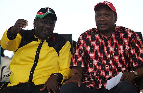 Deputy Prime Minister Uhuru Kenyatta and William Ruto