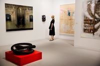Inside The Art Basel Fair As Trump Alters Vibe