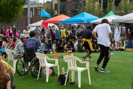 Community, Not Anarchy, Inside Seattle's Protest Zone