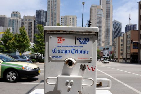 The Best Thing We Could Find About Tribune's Newspaper Split