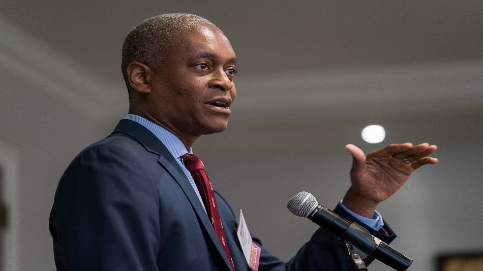 Fed's Bostic Sees Signs of Economy 'Leveling Off'