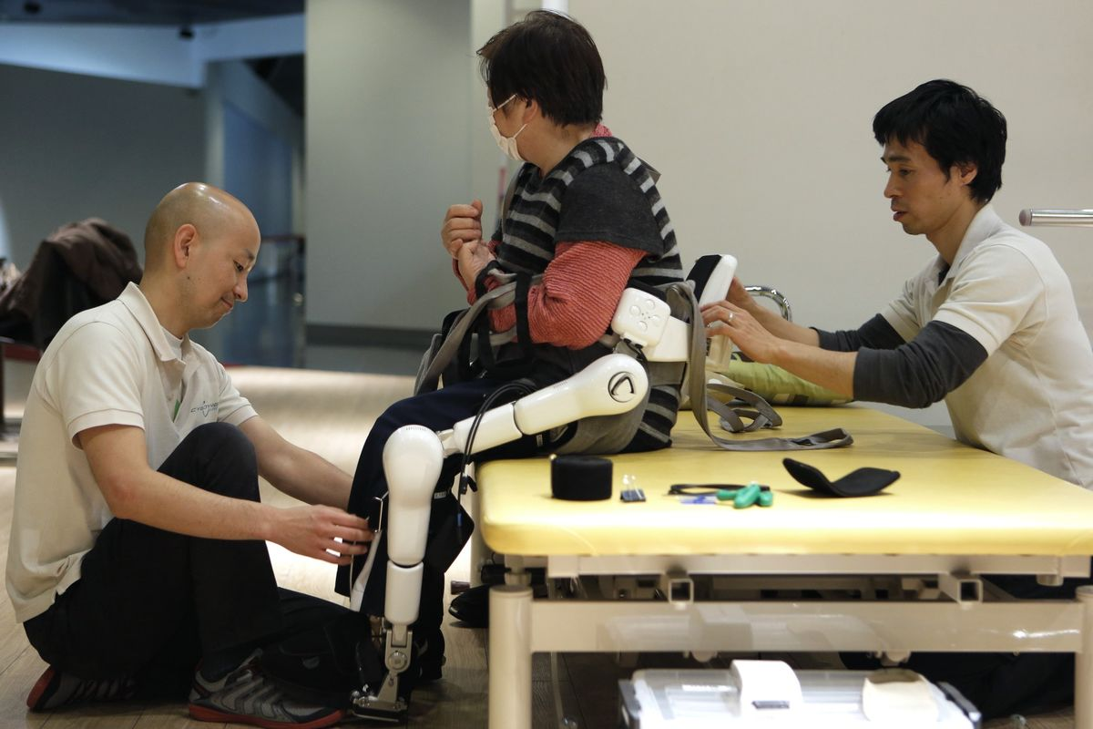 Robot Wolves and Bionic Suits Might Just Save Japan