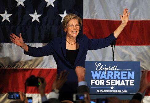 Massachusetts Senator Elect Elizabeth Warren