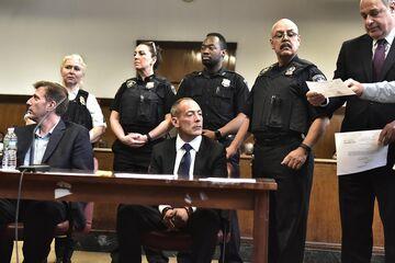 Croman at his arraignment in June.