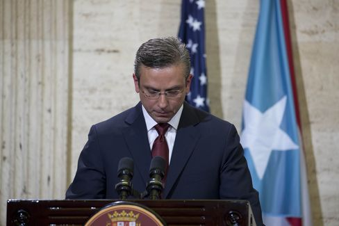 Puerto Rico's effort to emerge from its debt crisis were cast into disarray last week, when lawmakers rejected Governor Alejandro Garcia Padilla's proposed tax overhaul. Source:  GDA via AP Images