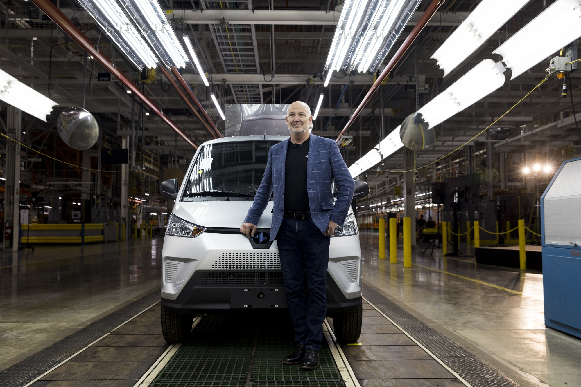 relates to Electric Vans Roll Off Line That Once Made Gas-Guzzling Hummers
