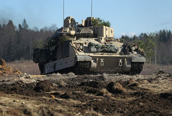 Army Restarts Disputed $45 Billion Armored Vehicle Competition