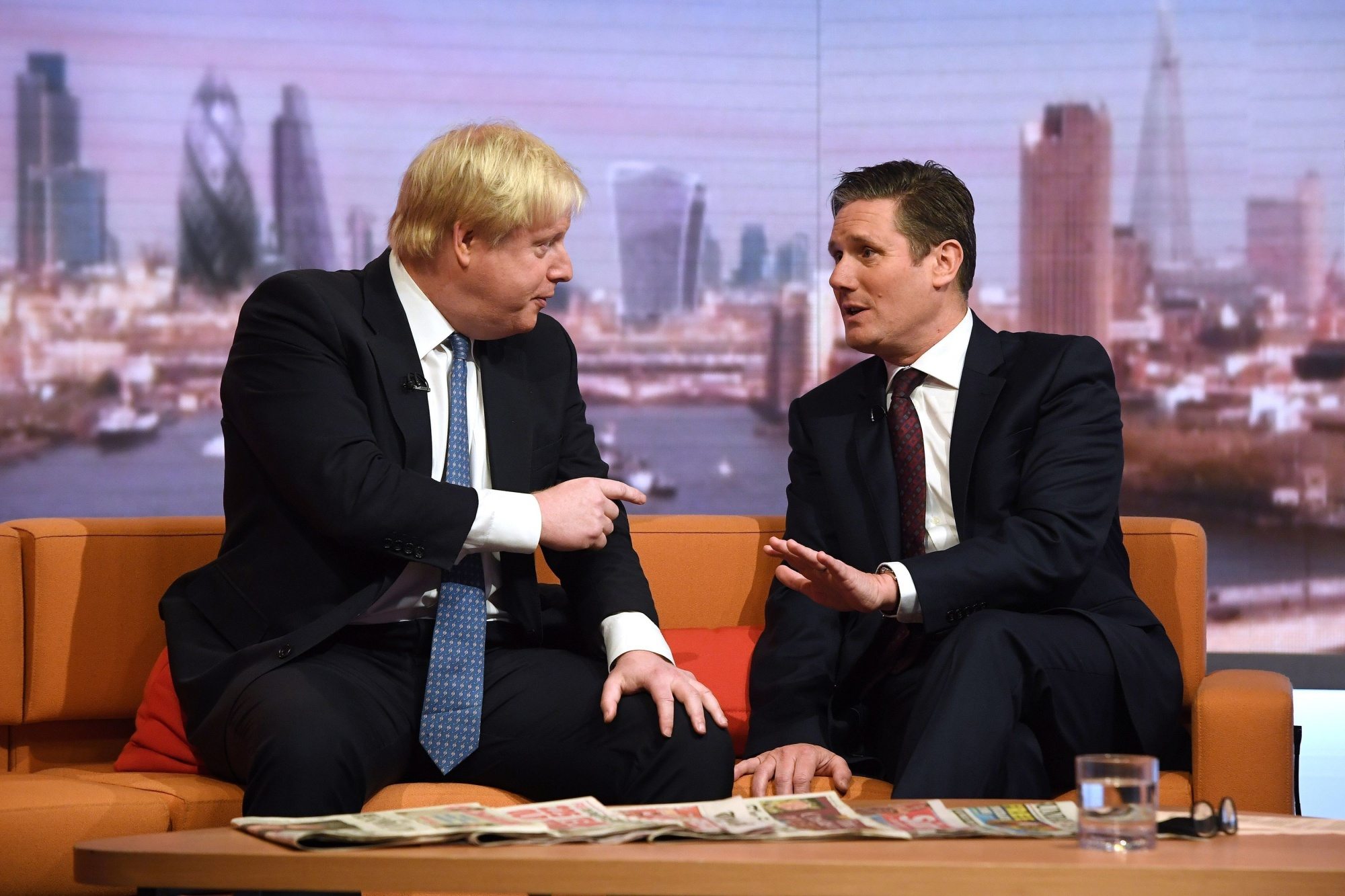 Keir Starmer: Boris Johnson Finally Has a Rival to Worry About - Bloomberg