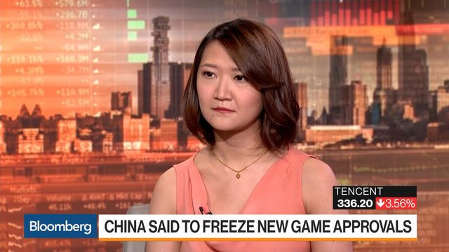 China Is Said to Freeze Game Approvals Amid Agency Shakeup - Bloomberg
