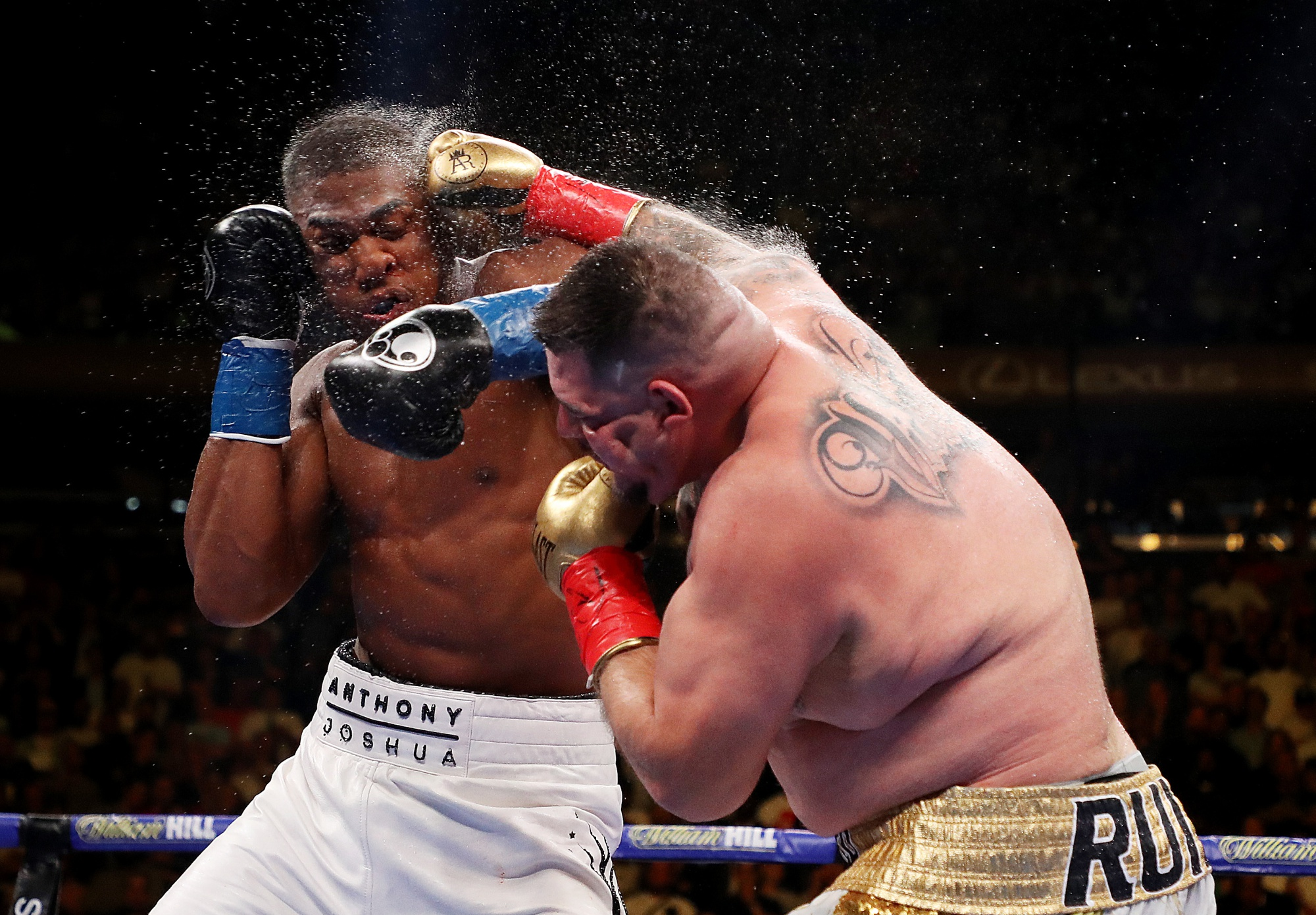 Ruiz Stuns Joshua for Heavyweight Title At MSG - Bloomberg
