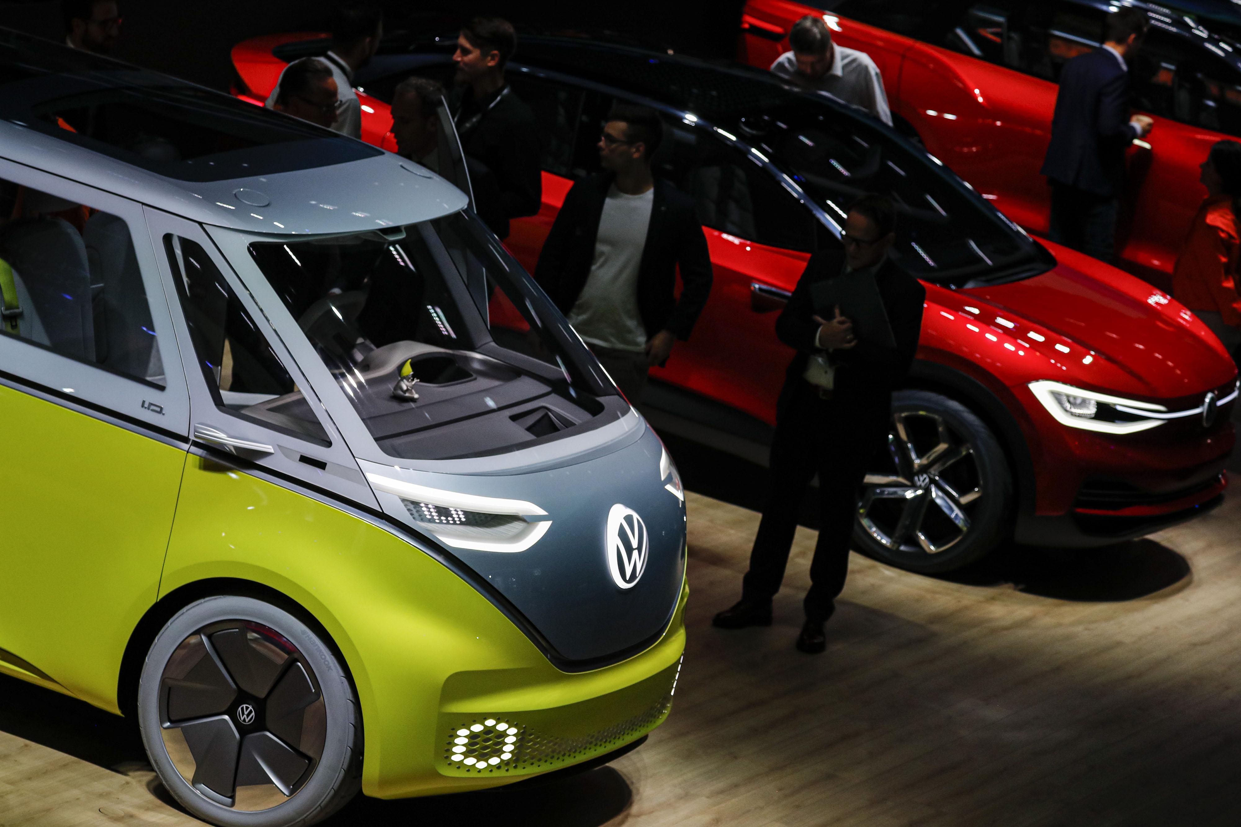 Zweiter Tag der 68. IAA Frankfurt Automobilausstellung