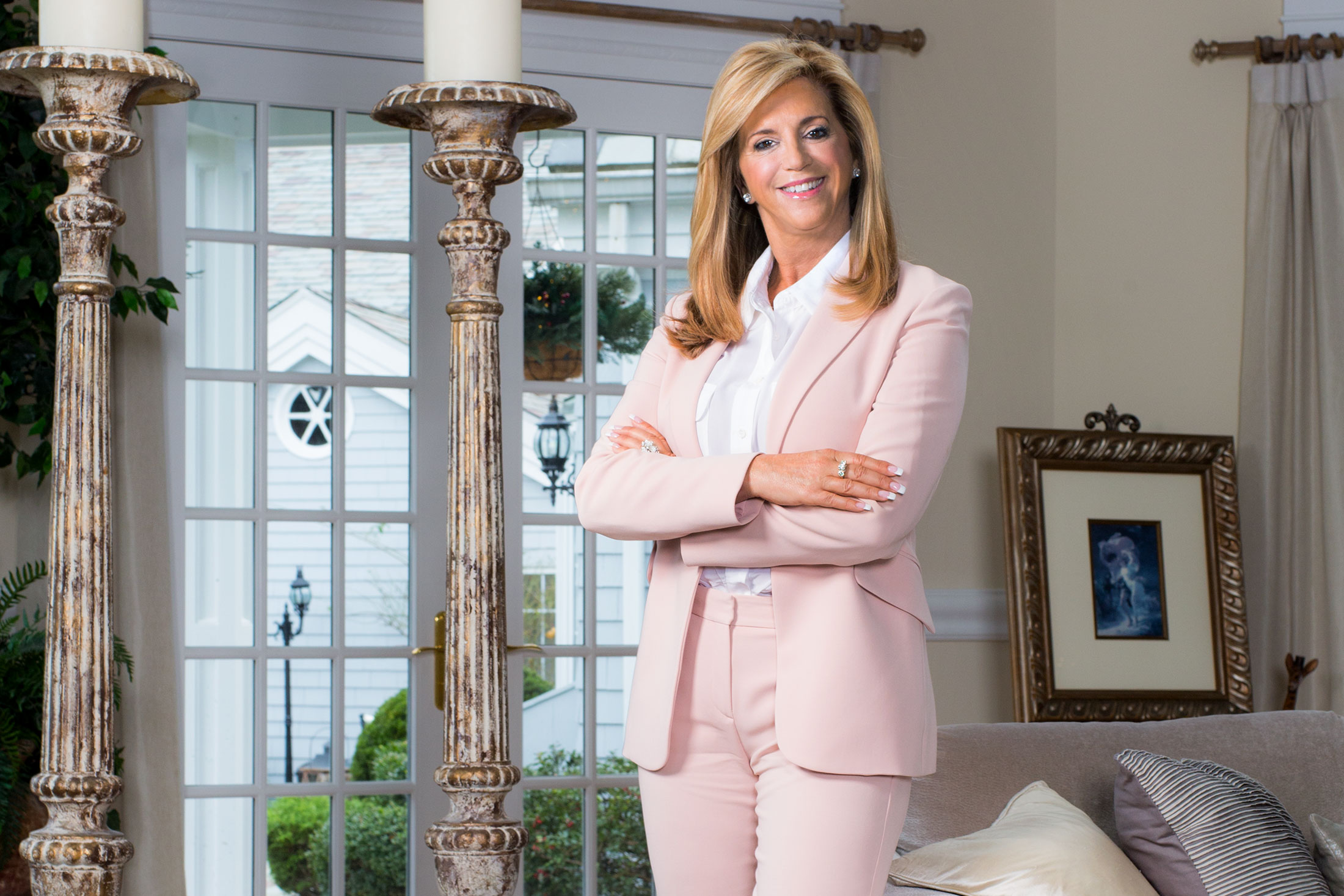 How Joy Mangano the Queen of Home Shopping Does Christmas