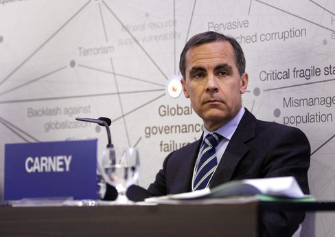 Canadian Central Bank Governor Mark J. Carney
