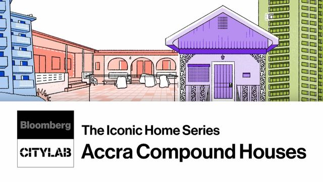 Inside the History of Accra's Communal Compound Houses