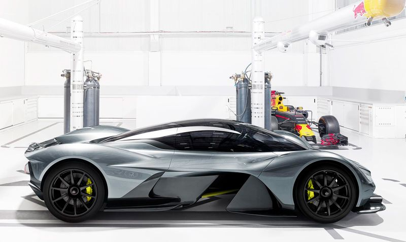 Aston Martin to Build New Hypercar to Beat the World's Fastest ...