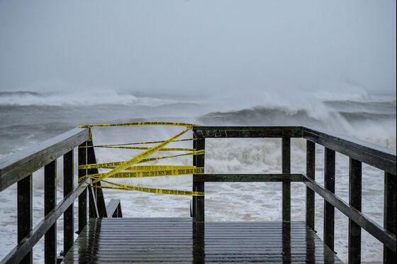 Henri Barrels Toward New England With Powerful Storm Surge