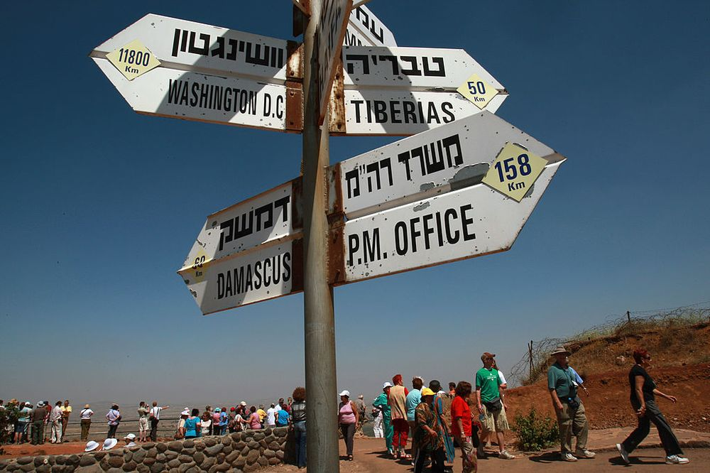 Why the Golan and Crimea Aren't So Different