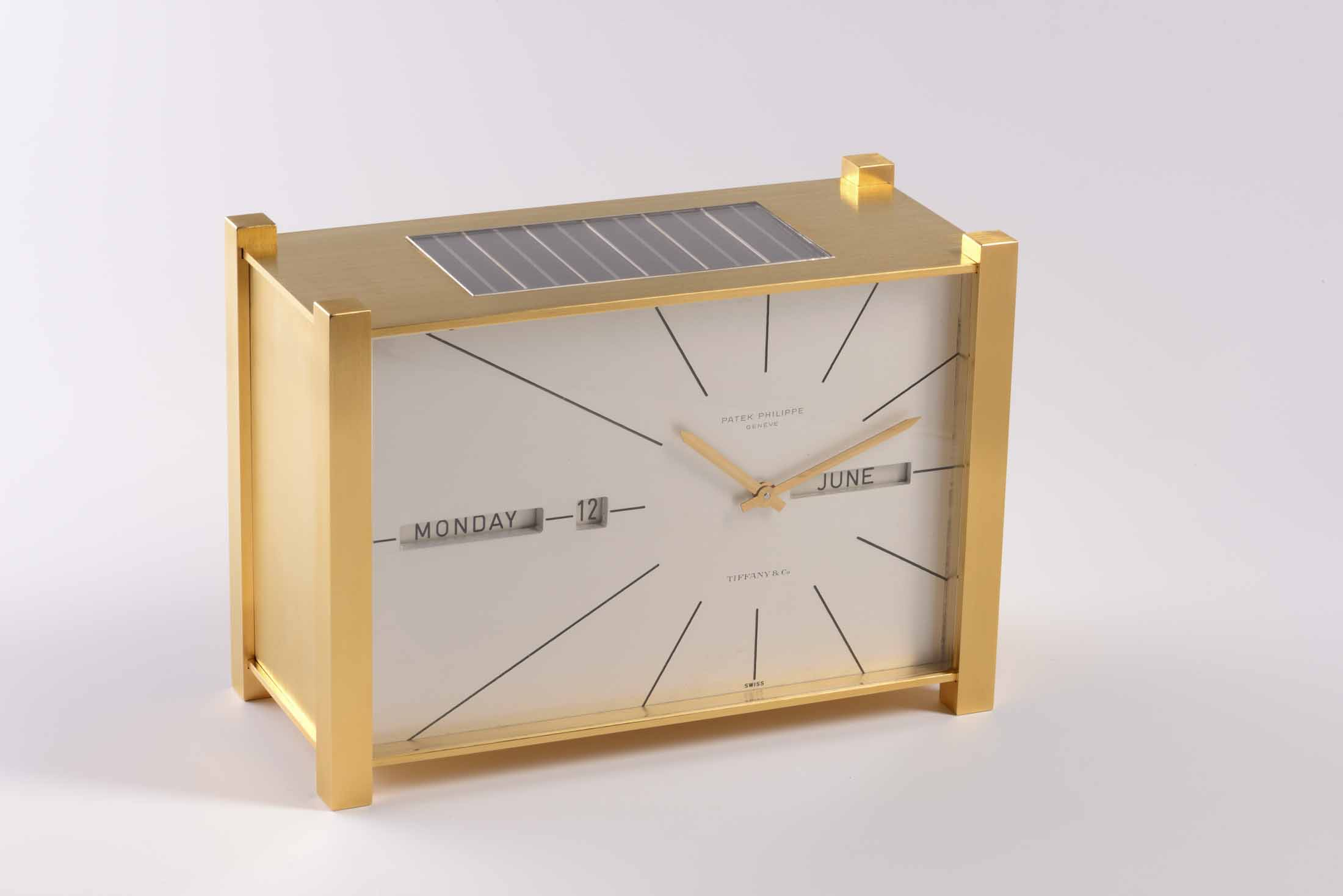 Patek Philippe Solar-Powered Clock With Full Perpetual Calendar