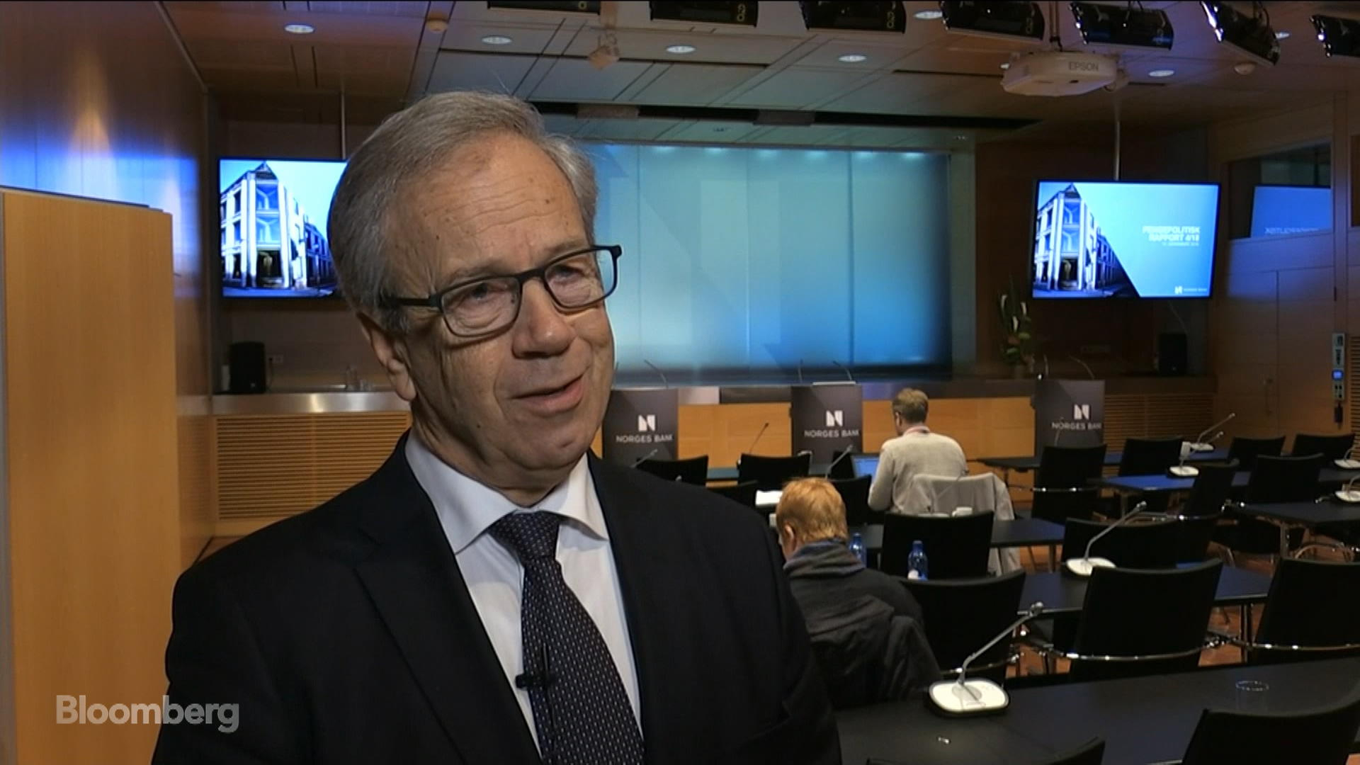 Norges Bank Governor Says Next Rate Hike 'Most Likely' in March 2019