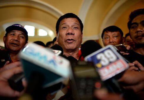 Mayor Rodrigo Duterte.